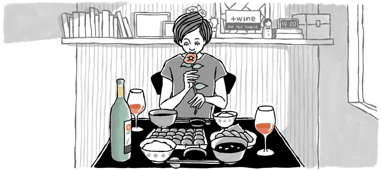 「雪解けと共に花ひらく赤ワイン(岩の原葡萄園「深雪花」)」のアイキャッチ画像
